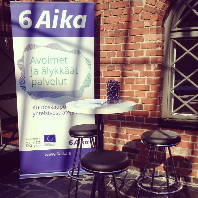 Cover for article '6Aika esillä Avoin Suomi 2014 -tapahtumassa'