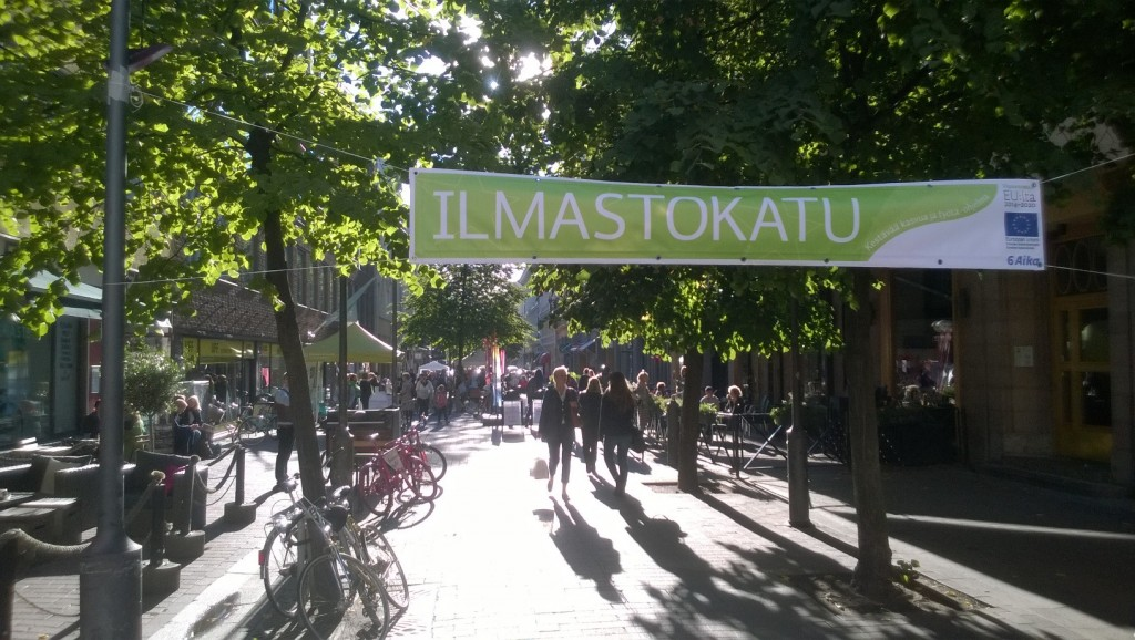 Cover for article 'Päättynyt: Ilmastokatu'
