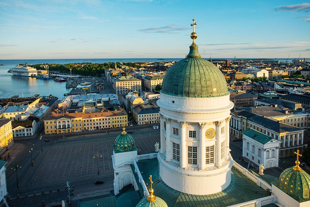 Cover for article 'Helsinki – a forerunner of open data'