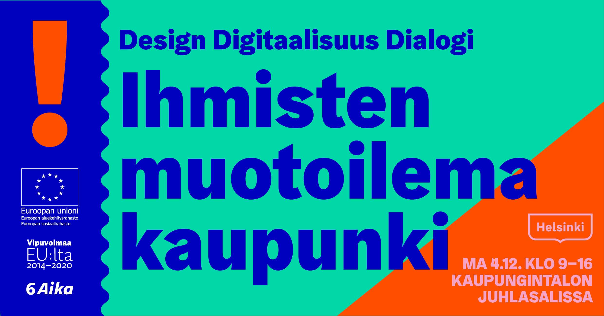 Cover for article 'Ihmisten muotoilema kaupunki 4.12.'
