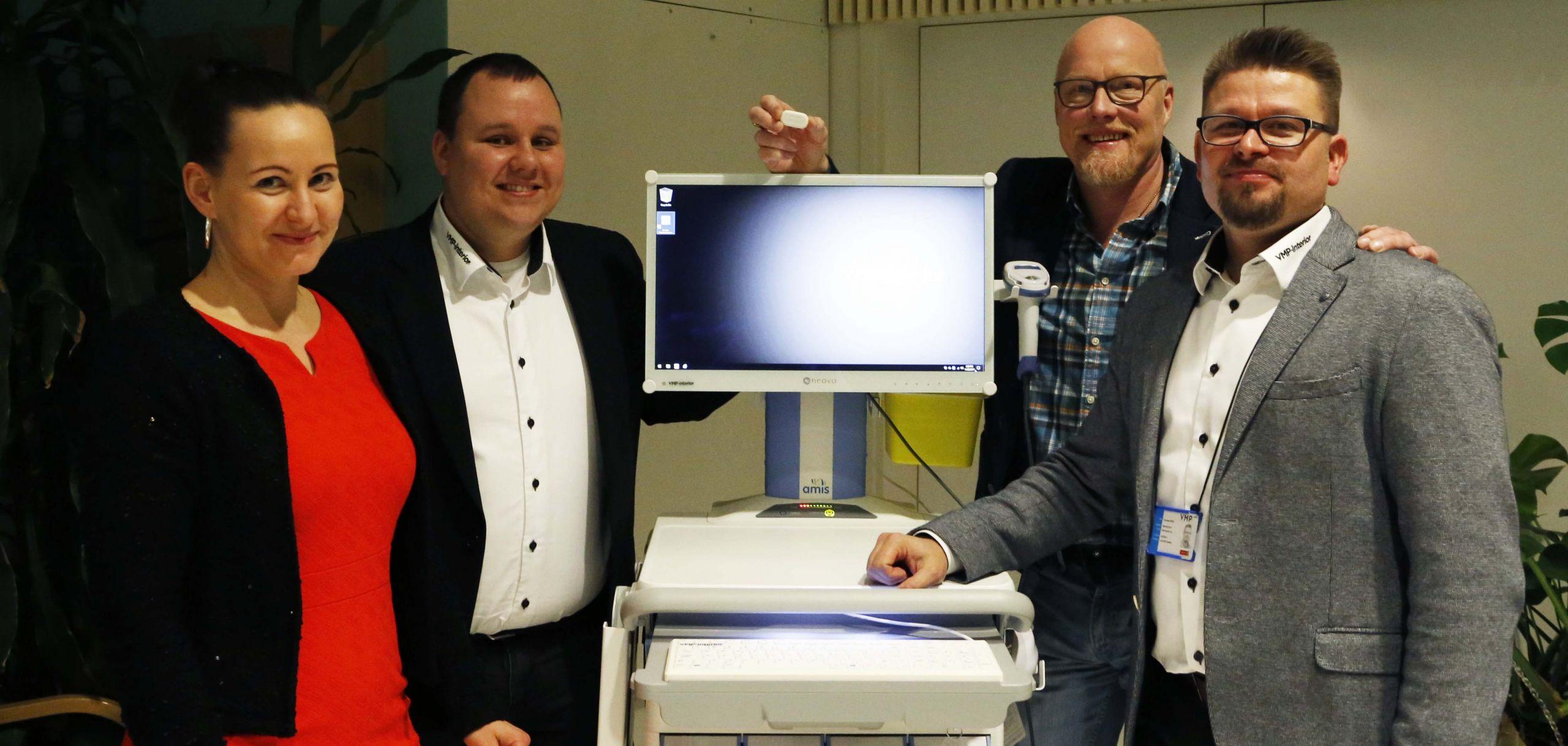 Cover for article 'Yritykset ja sairaalan ammattilaiset kehittivät uusia ratkaisuja sairaalan tarpeisiin'