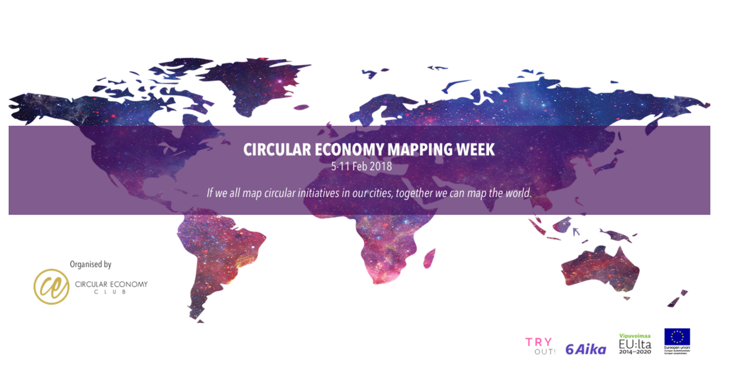 Cover for article 'Turussa: Circular Economy Mapping Week goes 6Aika'