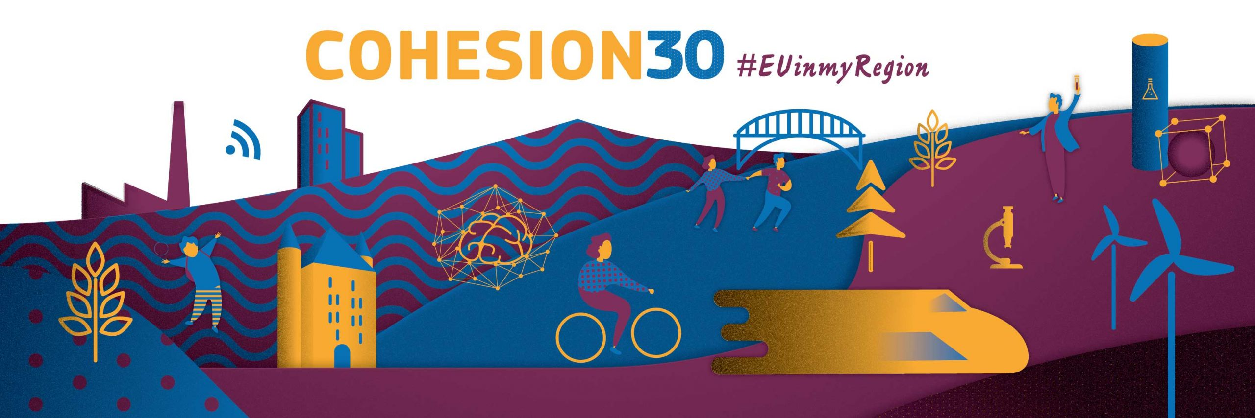 Cover for article 'The Six City Strategy Finland's flagship project for EU Cohesion 30'