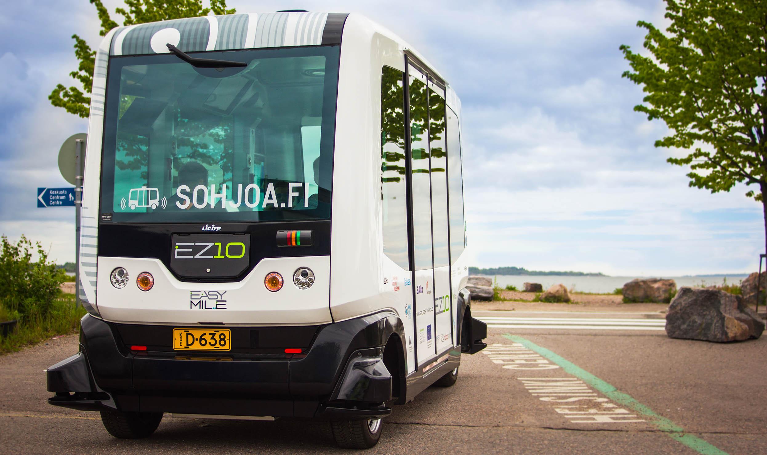 Cover for article 'Tuloksia: SOHJOA-robottibussit'