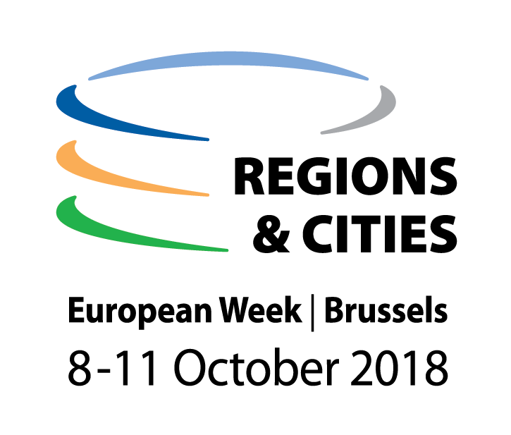 Cover for article '6Aika at European Week of Regions and Cities, Brussels'