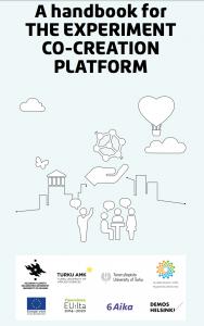 A handbook for the experiment co-creation platform.