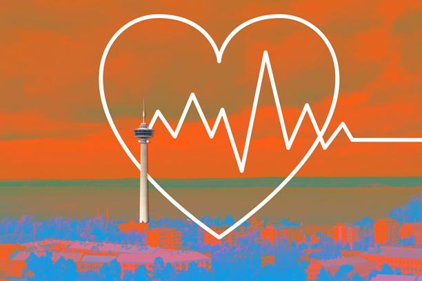 Cover for article 'CoHeWe-hanke testaa digitaalisia työkaluja sydämen vajaatoimintapotilaiden hoidossa'