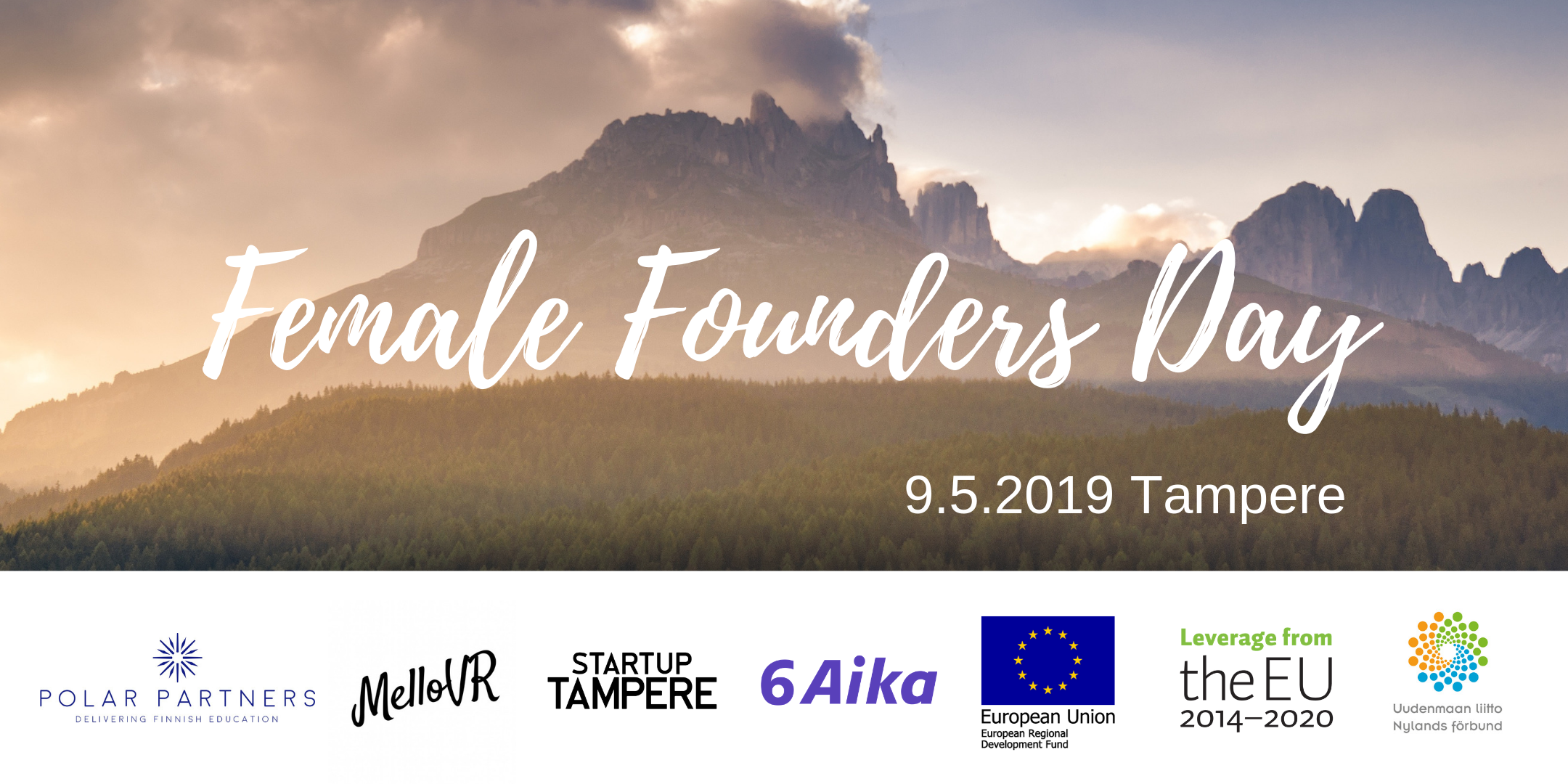 Cover for article 'Kasvun ekosysteemit – Female Founders day & Startup meetup Tampereella'