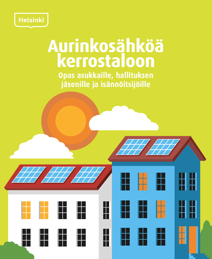 Cover for article 'Aurinkosähköä kerrostaloon'