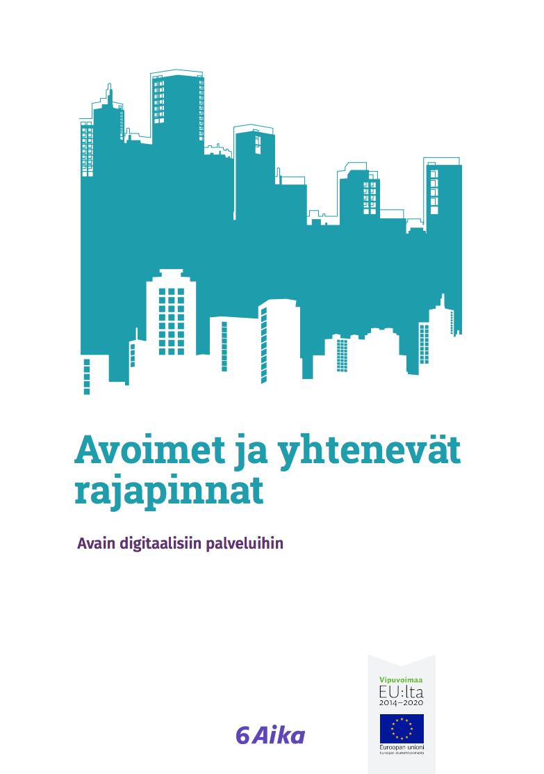 Cover for article 'Avoimet ja yhtenevät rajapinnat'