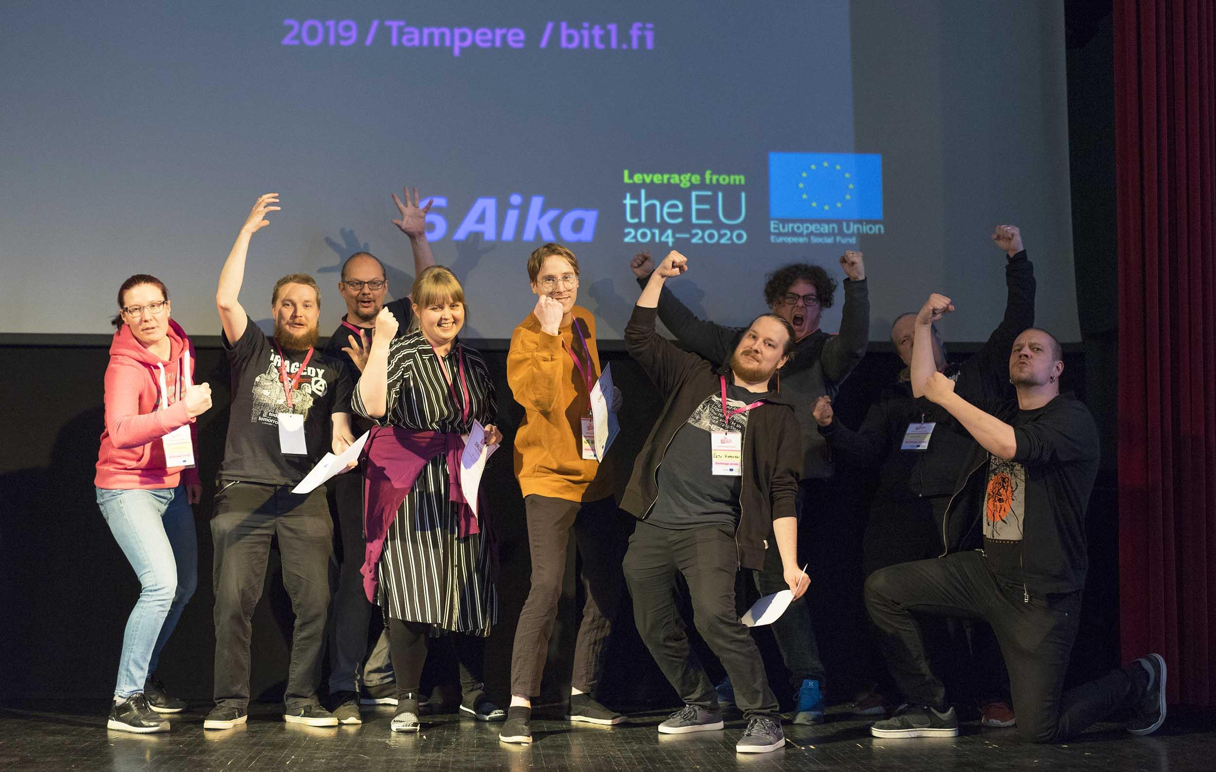 Cover for article 'Pelialan ammattilaiset valitsivat Bit1 2019 -voittajat'