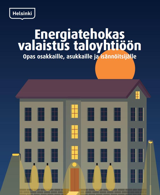 Cover for article 'Energiatehokas valaistus taloyhtiöön'