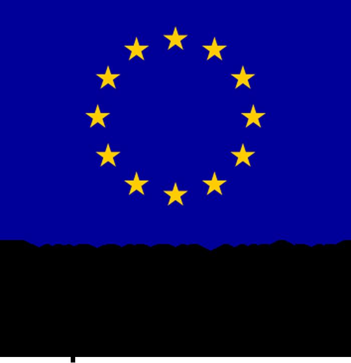 Euroopan unionin Euroopan aluekehitysrahaston ja Euroopan sosiaalirahaston logo