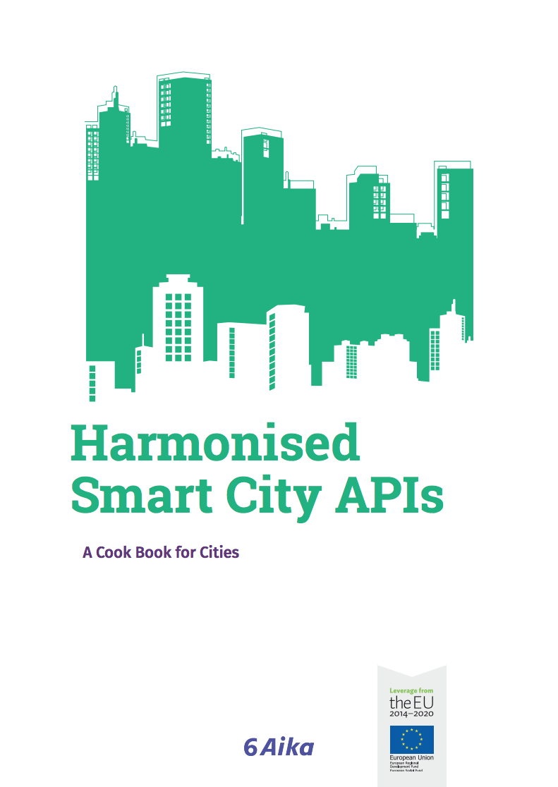 Cover for article 'Harmonised Smart City APIs'