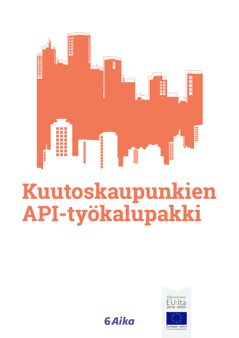 Cover for article 'Kuutoskaupunkien API-työkalupakki'