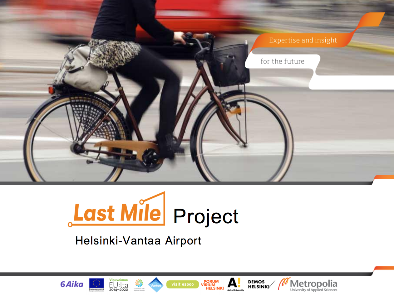 Cover for article 'User Study of Helsinki-Vantaa Airport'