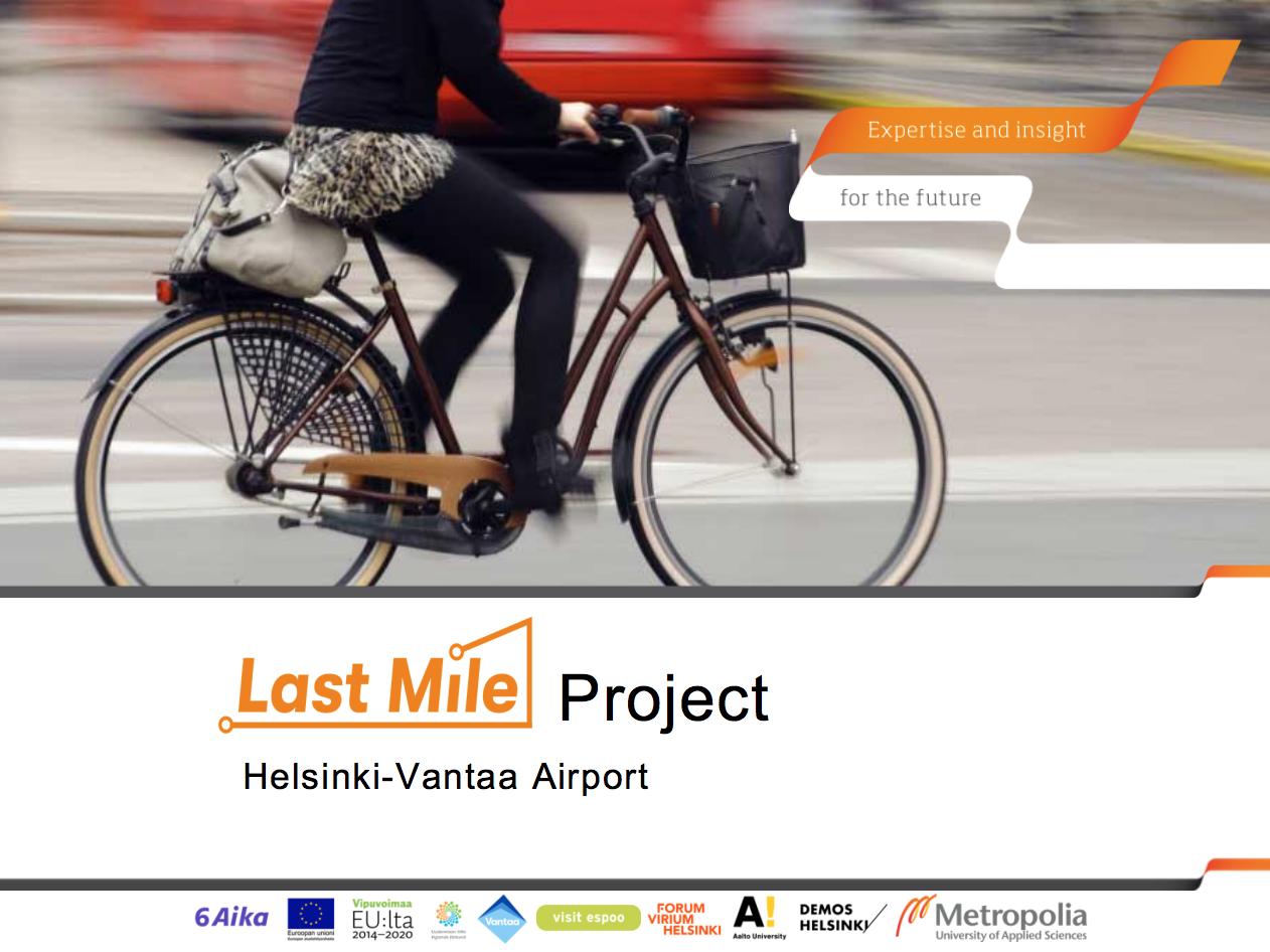 Cover for article 'Helsinki-Vantaa lentoaseman käyttäjätutkimus'