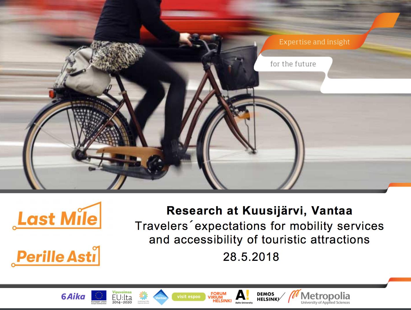 Cover for article 'Kuusijärven käyttäjätutkimus'