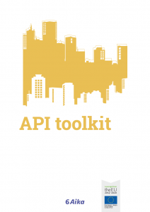 Cover for article 'API toolkit for cities'