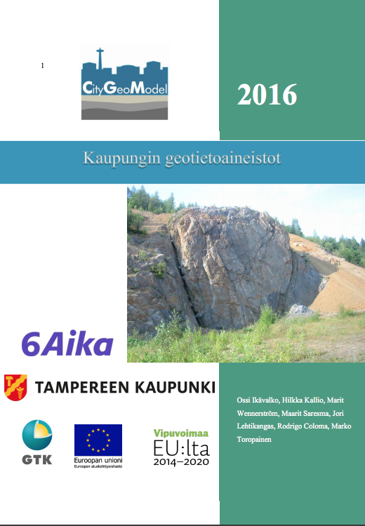 Cover for article 'Kaupungin geotietoaineistot'