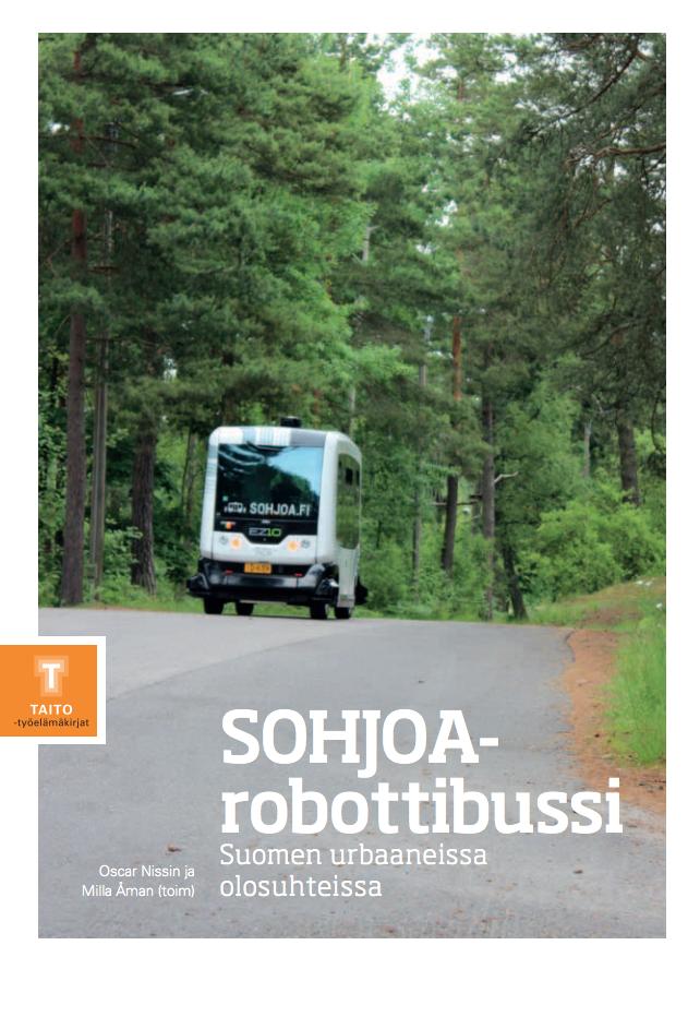 Cover for article 'SOHJOA-robottibussi Suomen urbaaneista olosuhteista'