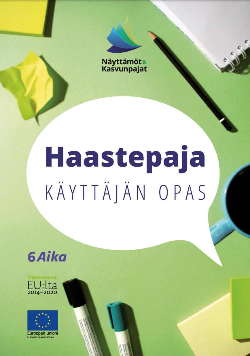 Cover for article 'Haastepaja – käyttäjän opas'