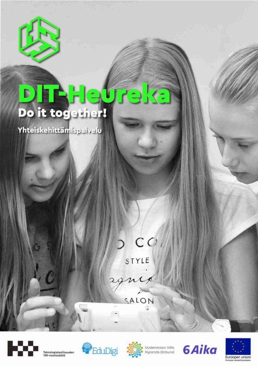 Cover for article 'Do It Together! – Heurekan yhteiskehittämispalvelu'