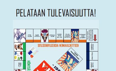 Cover for article 'Futurologi-peli, -pelikortit ja pelin ohjeet'