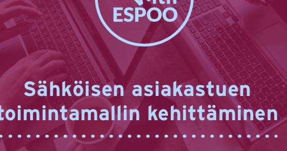 Cover for article 'Sähköisen asiakastuen toimintamallin kehittäminen'
