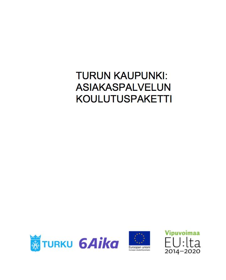 Cover for article 'Asiakaspalvelun koulutuspaketti'