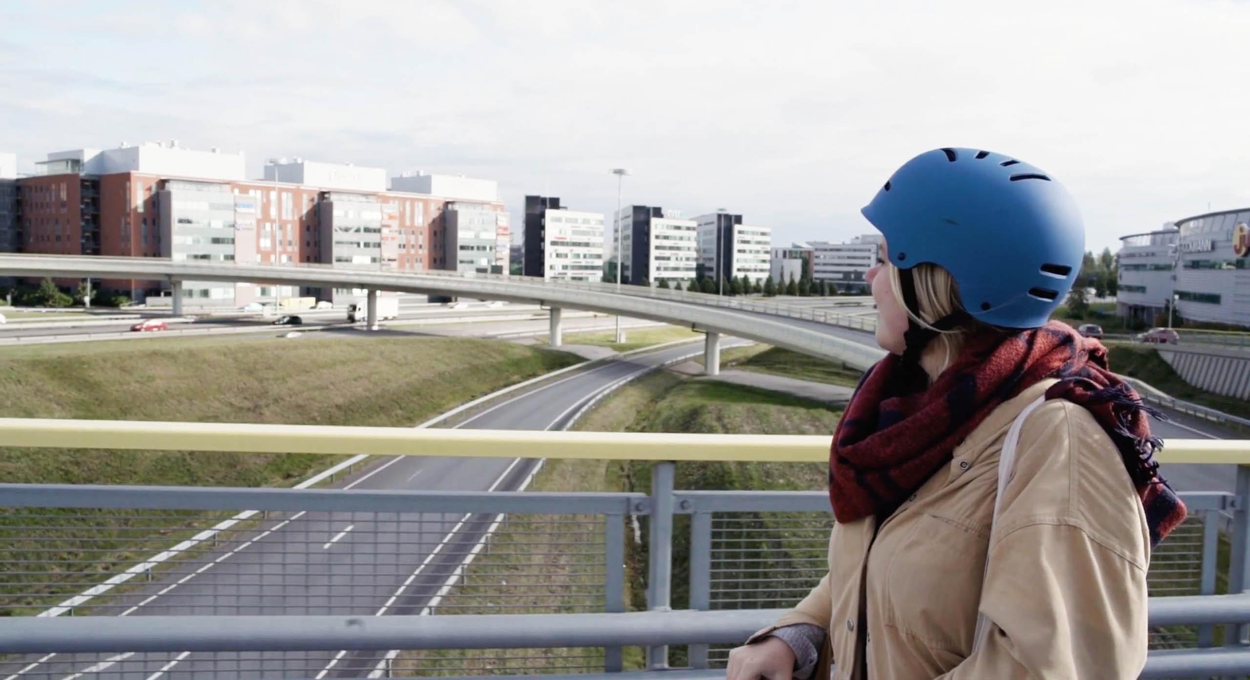 Cover for article 'Katso video: uusia liikkumisen ratkaisuja kaupunkeihin'