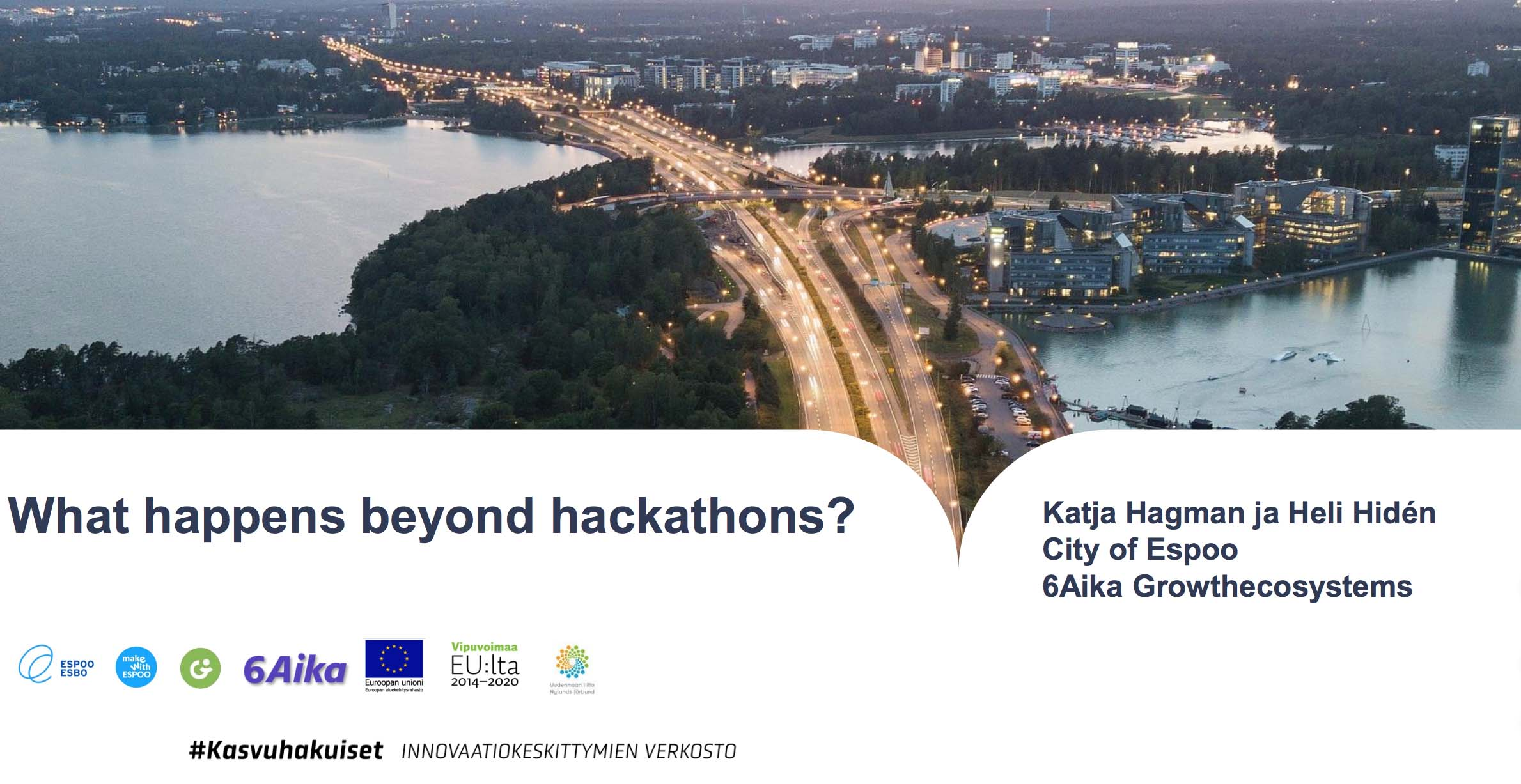 Cover for article 'What happens beyond hackathons'