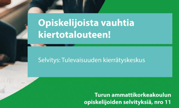 Cover for article 'Tulevaisuuden kierrätyskeskus'