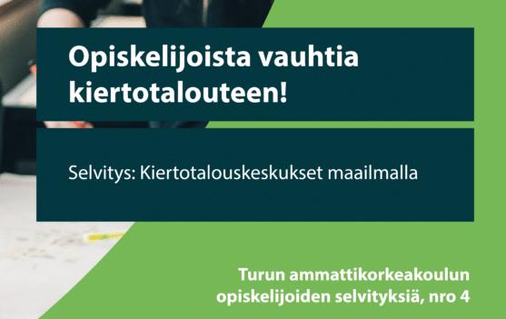 Cover for article 'Kiertotalouskeskukset maailmalla'