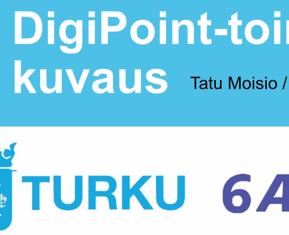 Cover for article 'Digipoint-toimintamallin kuvaus'