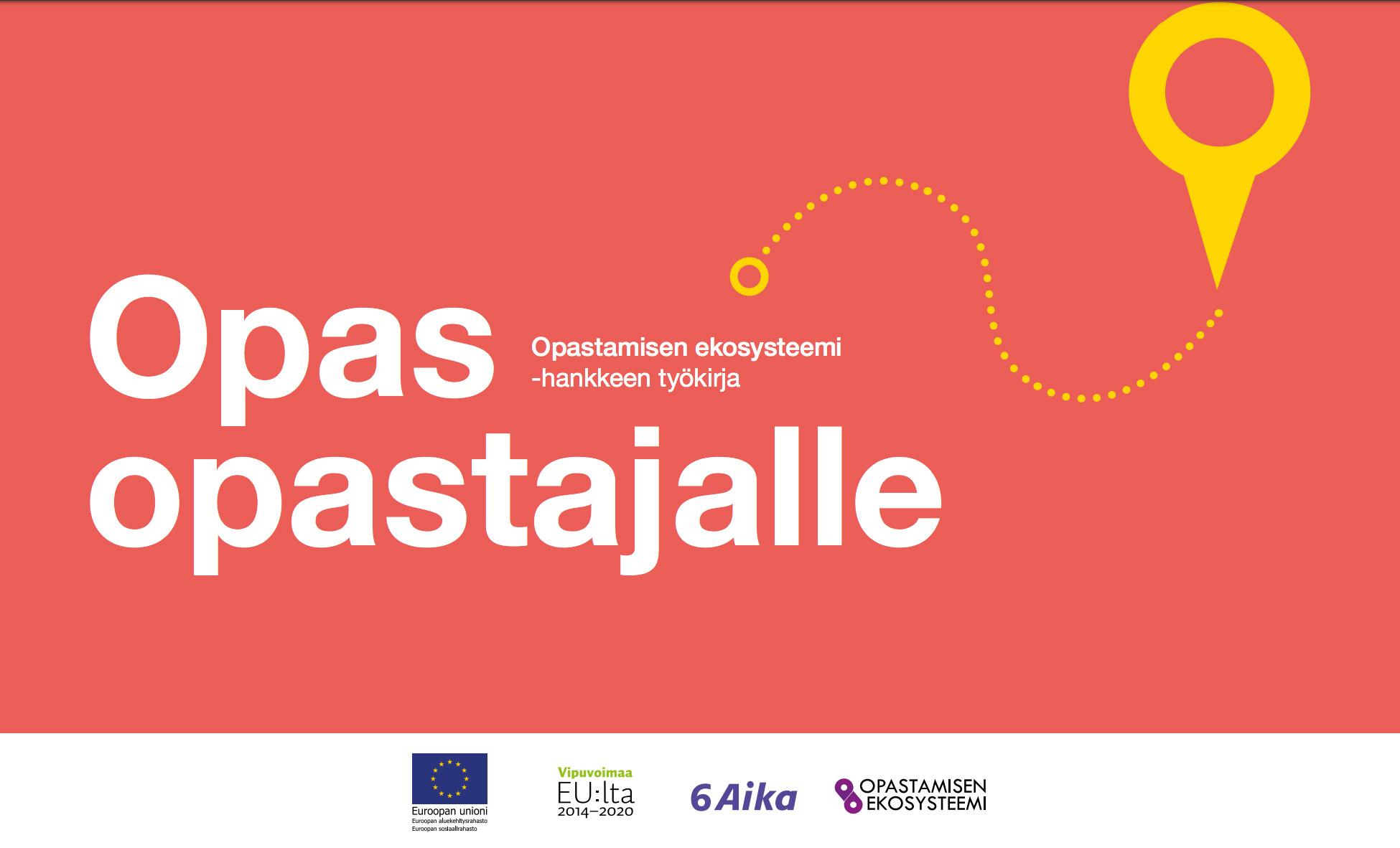 Cover for article 'Opas opastajalle -työkirja'