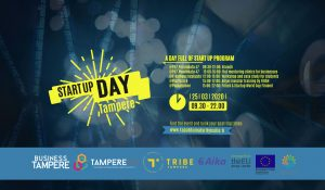 Cover for article 'Kasvun ekosysteemit -TAMPERE STARTUP DAY'
