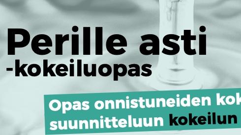 Cover for article 'Perille asti kokeiluopas Demos Helsinki'