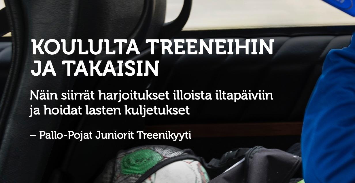 Cover for article 'Perille asti treenikyytijulkaisu'