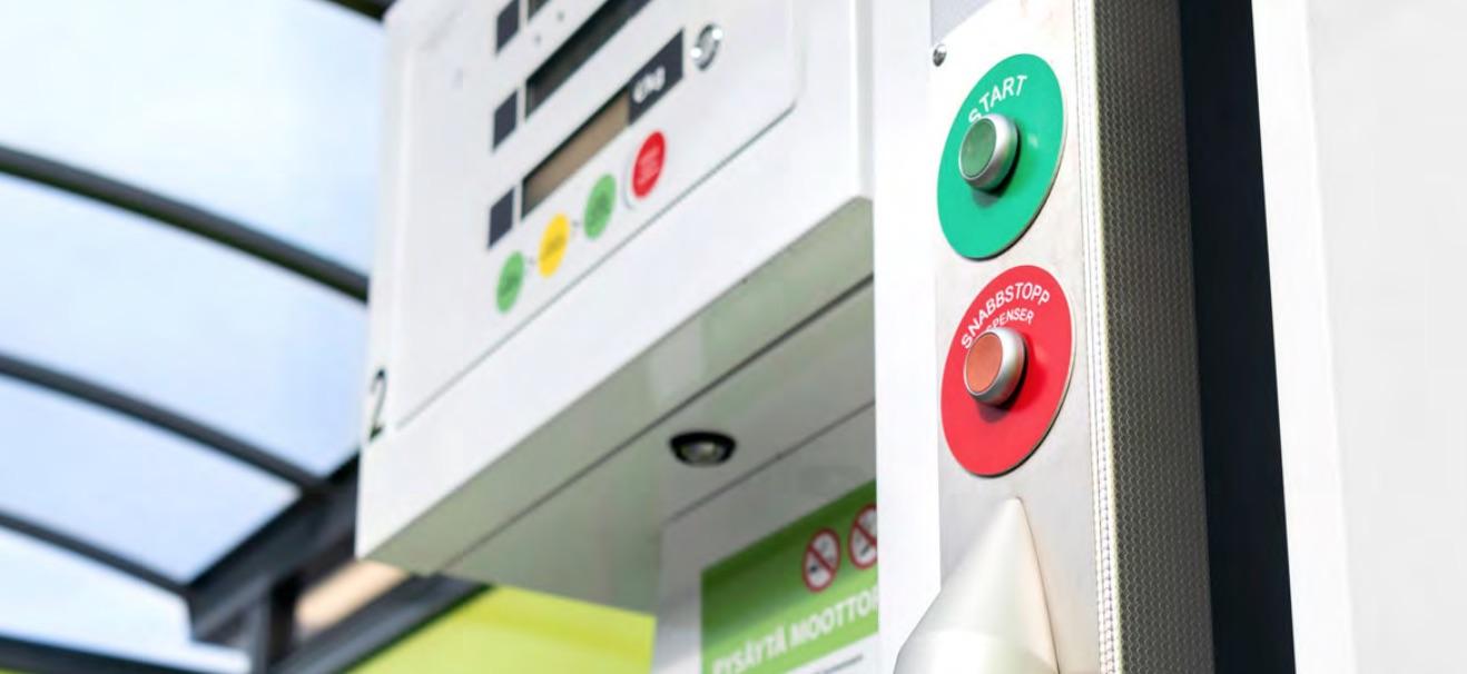 Cover for article 'Biokaasua -Käsikirja kaasukäyttöisten ajoneuvojen hankinnan ja käytön tueksi'