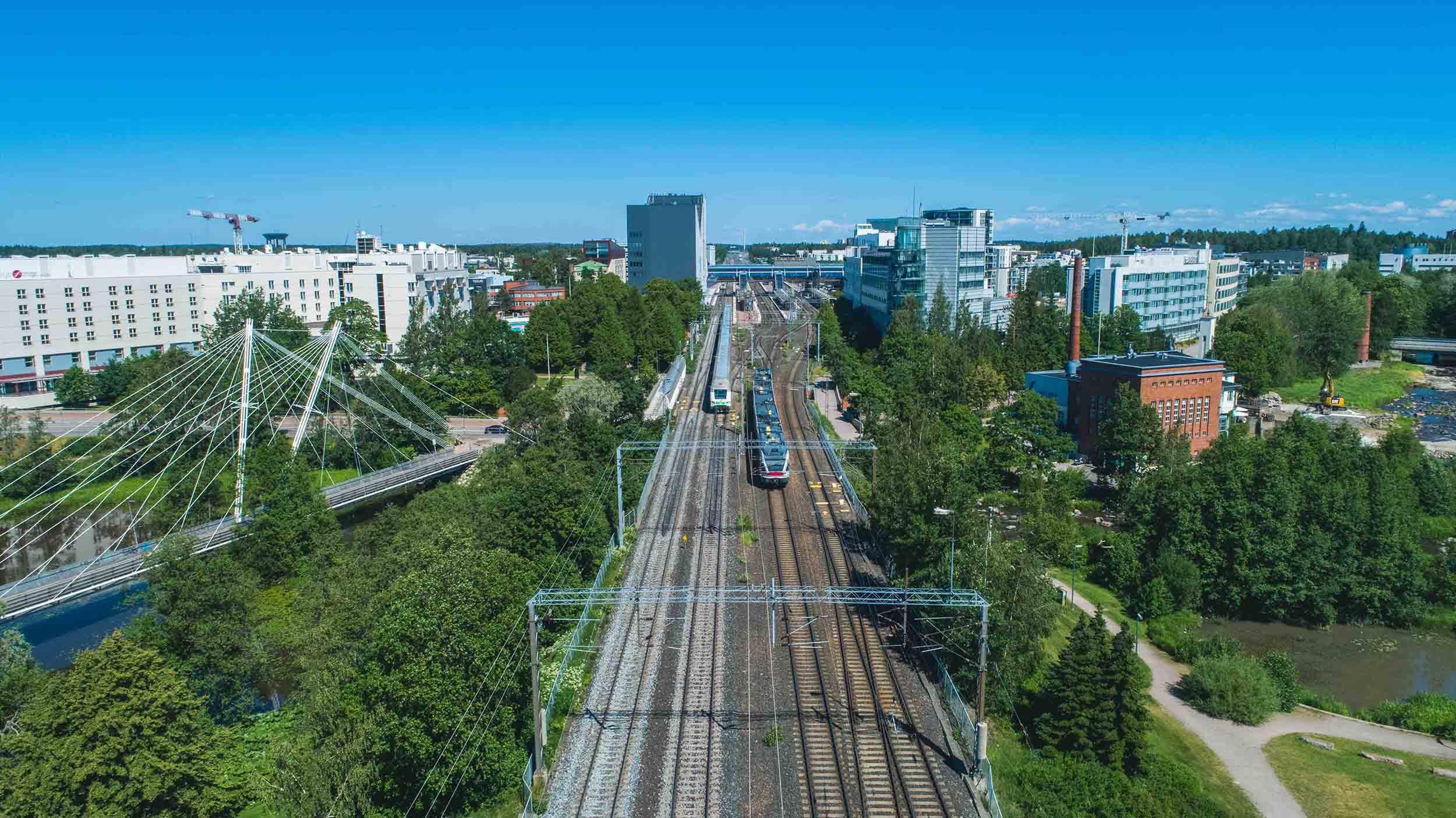 Cover for article 'Yhdeksän yritystä aloittaa Urban Tech -kasvuohjelmassa Vantaalla'