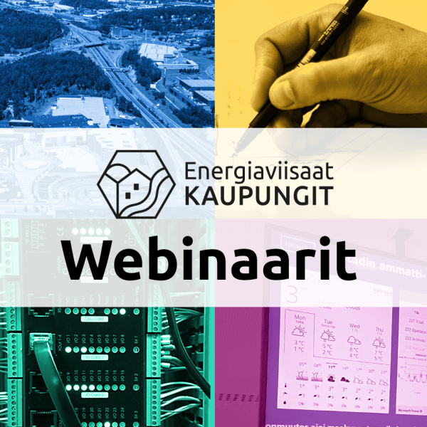 Cover for article 'Energiaviisaat kaupungit – Webinaarisarja: Elinkaarilaskenta osana suunnittelun ohjausta'