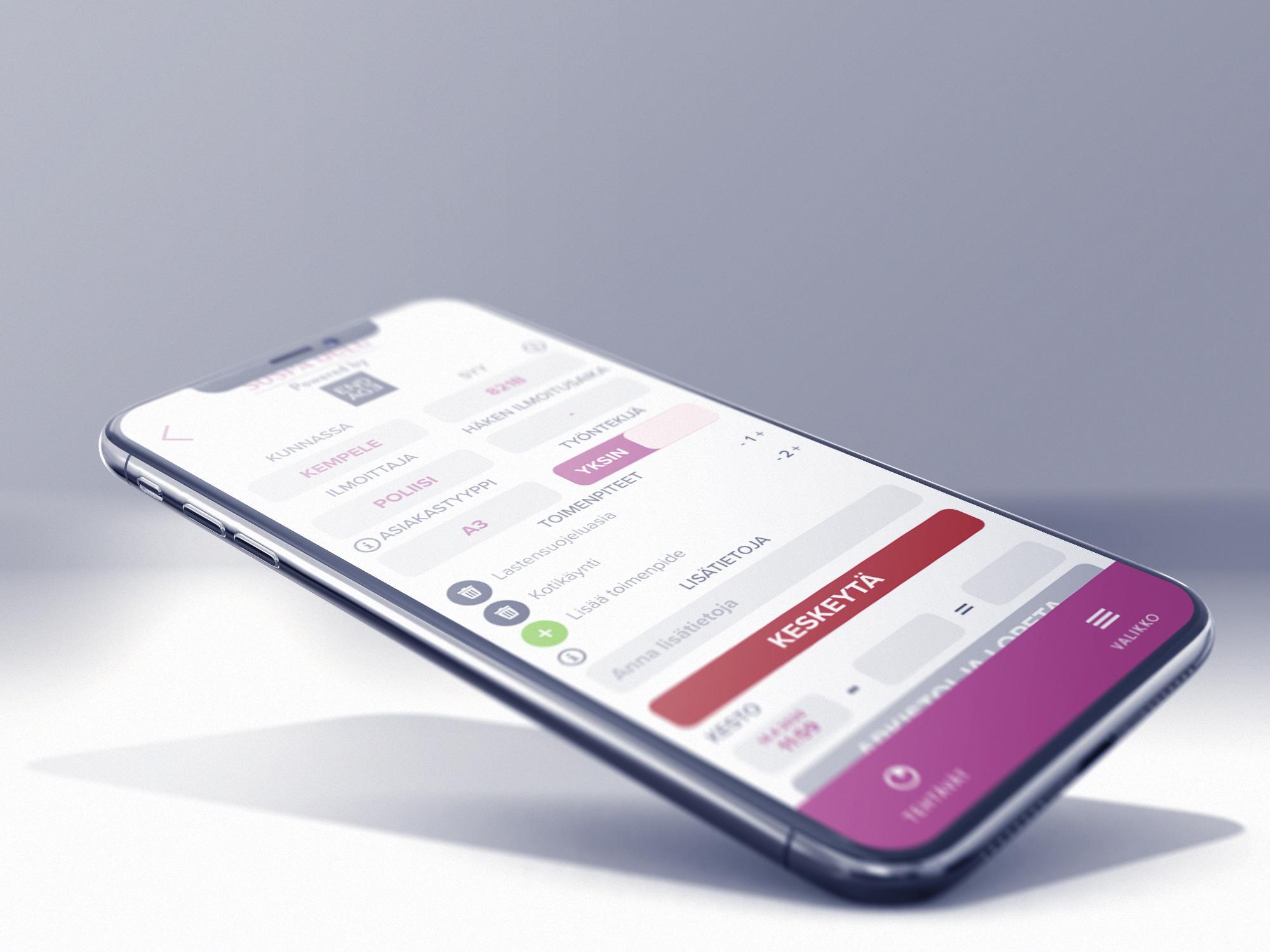 Cover for article 'CoHeWe-hanke kehittää sosiaalipäivystyksen mobiilipalvelua Oulun seudulle laajalti'