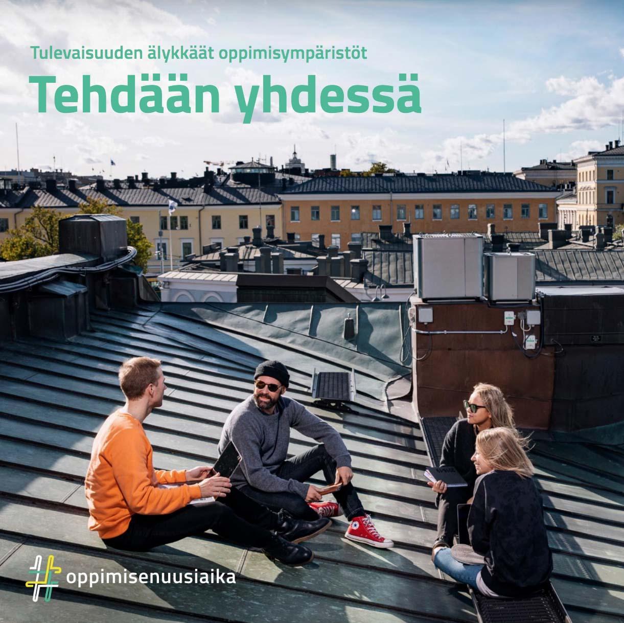 Cover for article 'Tulevaisuuden älykkäät oppimisympäristöt tehdään yhdessä'