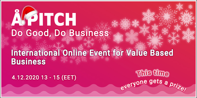 Cover for article 'Growth Ecosystems – ÅPitch: Event for Value-based Business'