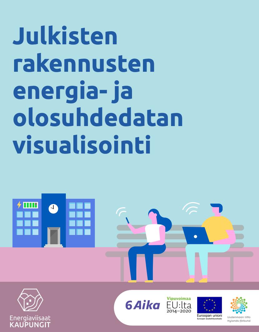 Cover for article 'Julkisten rakennusten energia- ja olosuhdedatan visualisointi'