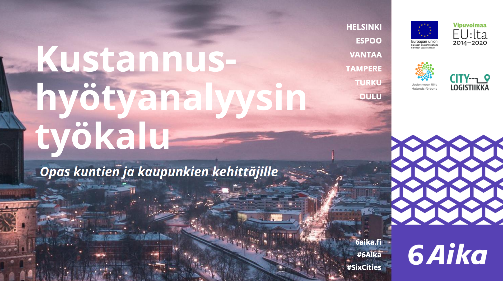 Cover for article 'Kustannus-hyötyanalyysin työkalu kehittämishankkeelle'