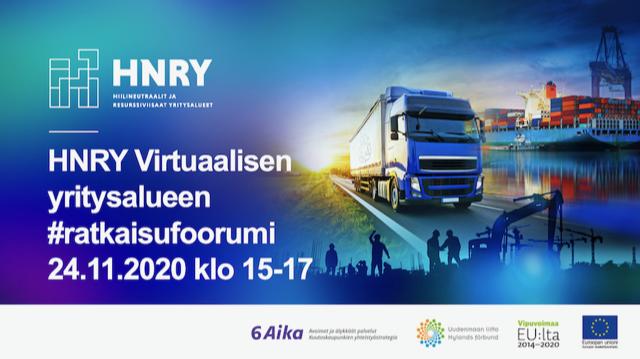Cover for article 'HNRY – Virtuaalisen yritysalueen ratkaisufoorumi'