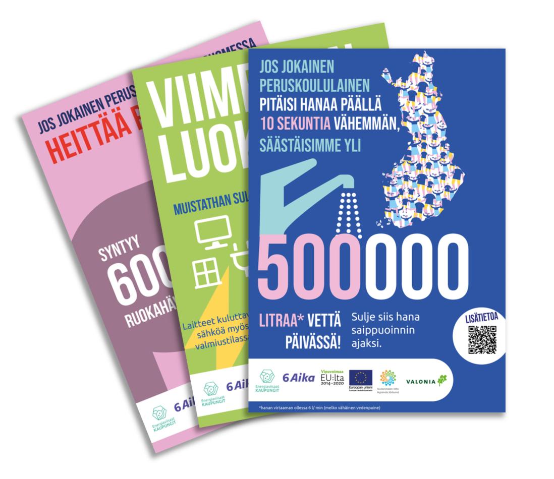 Cover for article 'Energiaviisas koululainen -materiaalipaketti'