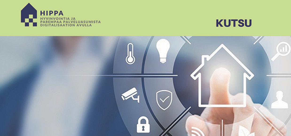 Cover for article 'HIPPA – Ihminen älykodissaan: Dataa on – mitä sillä teemme?'